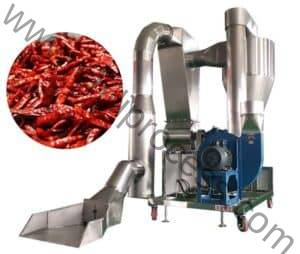 Automatic Chili Stone and Impurity Removing Cleaning Machine