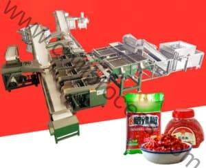 Automatic Chopped Chili Sauce Production Line