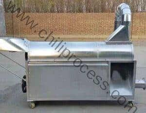 Automatic Dry Chili Pepper Dust Cleaning Machine