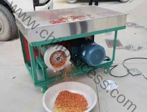 Carbon Steel Chili Pepper Flakes Crusher Machine