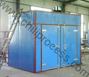 Batch Type Electric Heating Chili Dryer Oven