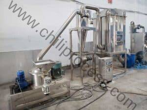 Automatic Chili Powder Crusher with Cyclone Dust Collector