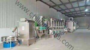Roll Type Chili Powder Production Line