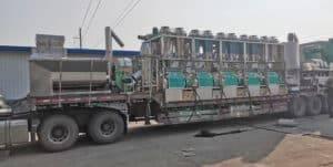Automatic 750kgh Chili Powder Production Line for Nigeria Customer