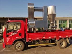 Automatic Chili Stone Removing Machine for India Customer